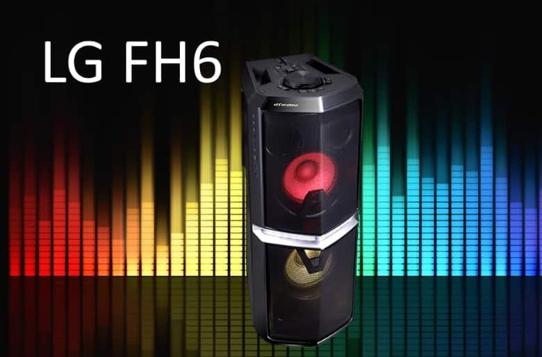 Análisis altavoz LG FH6