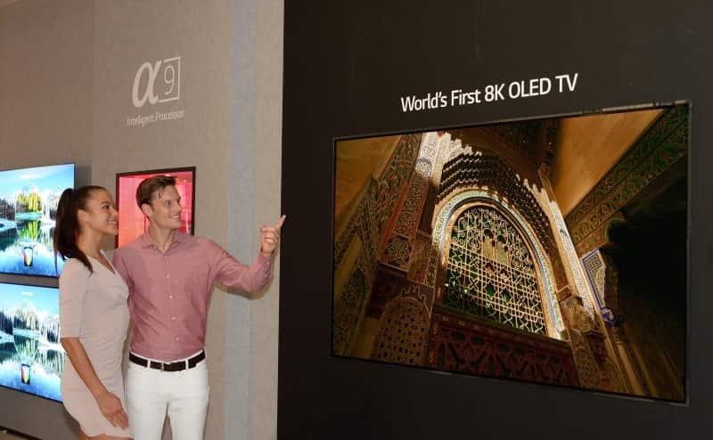 TV LG OLED 8K IFA 2018