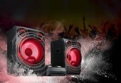 Nueva gama de altavoces de alta potencia LG 2018