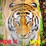 Qué significa HDR