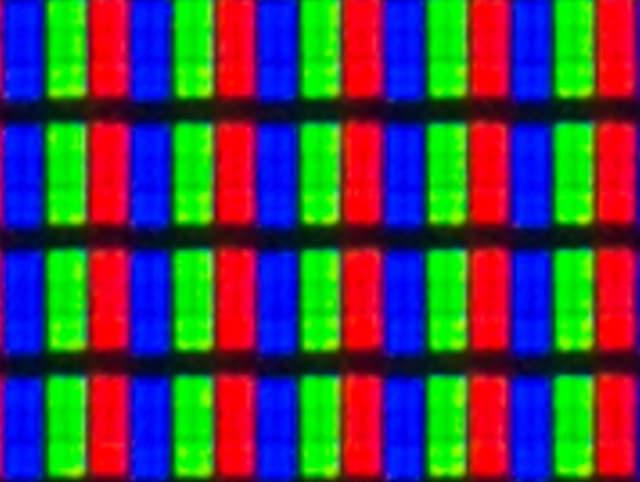 Matriz pixel panel VA