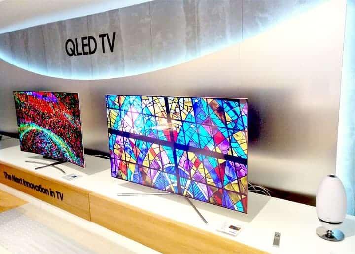 gama de televisores samsung 2017