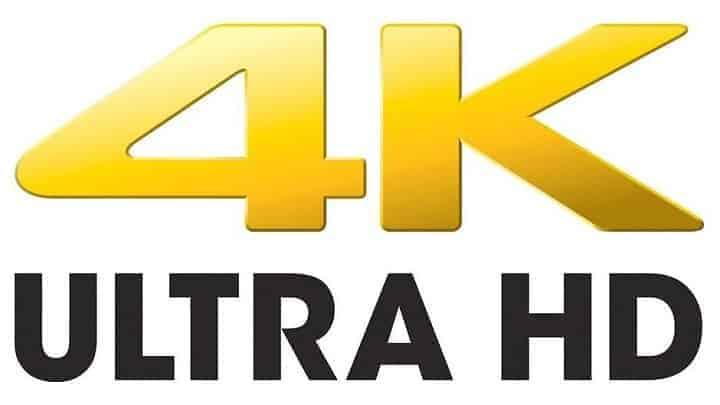contenido en 4K
