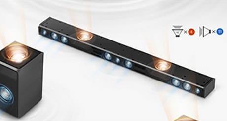 Barra de sonido Samsung HW-K950