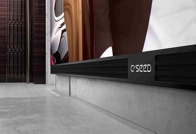 C Seed 262 pulgadas. Televisor más grande del mundo.