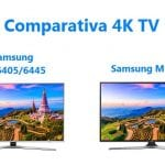 Comparativa Samsung MU6405-6445 y MU6105