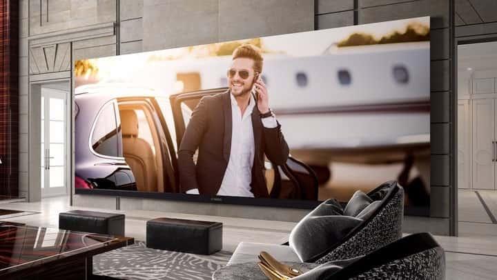 televisor más grande del mundo C Seed 262