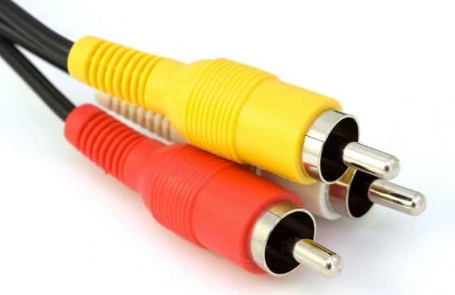 Cable de video compuesto RCA