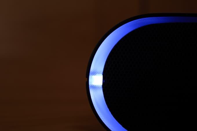 Iluminación altavoz Sony XB20