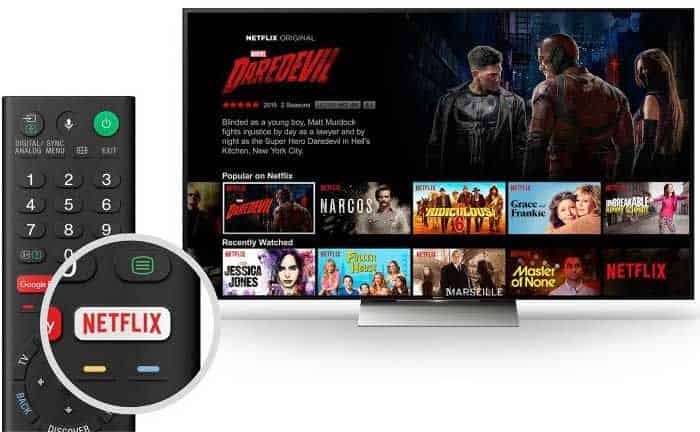 Mando TV Sony XE9005