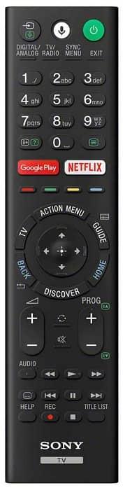 Mando con control por voz Sony XE9005