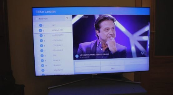Ordenar los canales en un tv samsung smart tv
