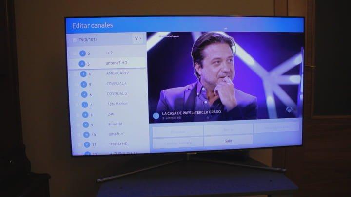 Ordenar los canales en un tv samsung smart tv