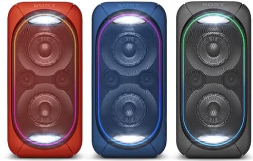 Colores Altavoz Sony GTK-XB60