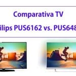 Comparativa Philips PUS6162 vs. PUS6482