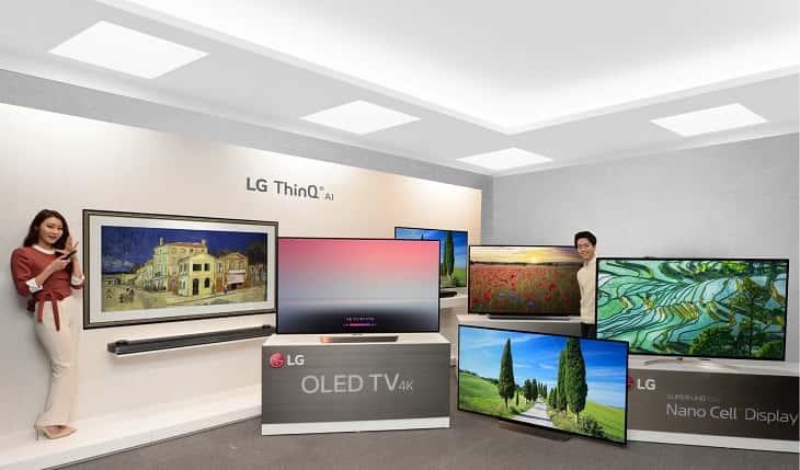 Novedades presentadas LG CES 2018