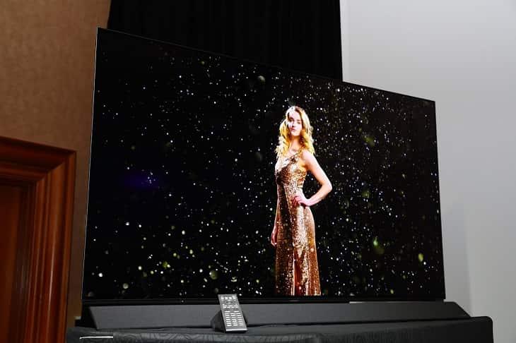 TV Panasonic OLED CES 2018