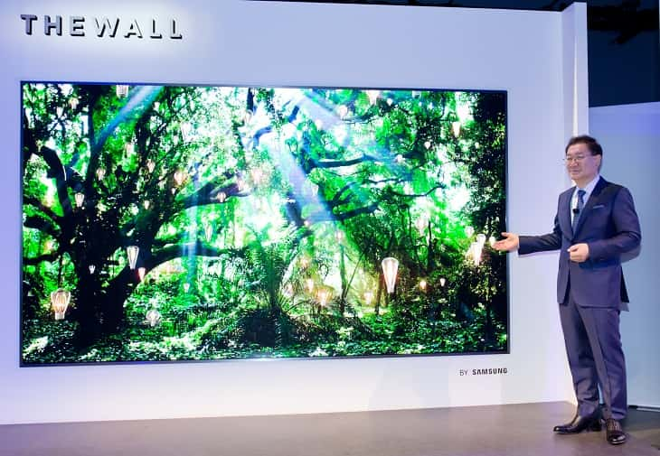 Televisor MicroLed Samsung The Wall