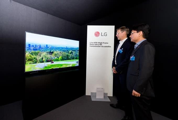 Televisor LG OLED con HFR