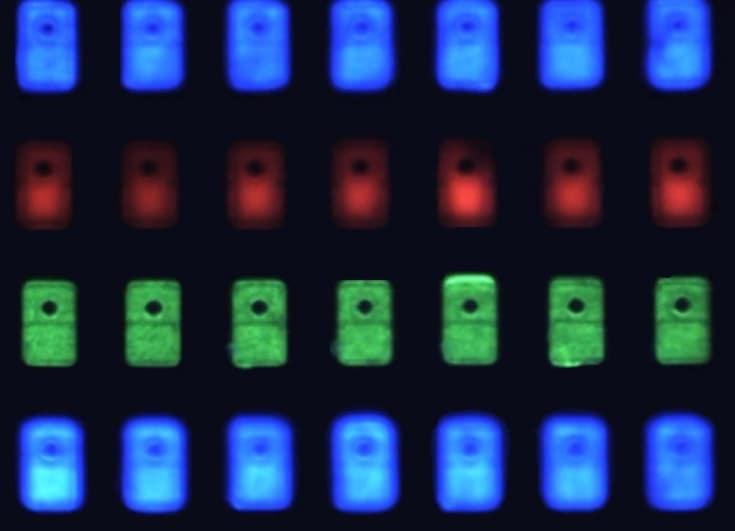 Que es MicroLED. Panel de tecnología MicroLED