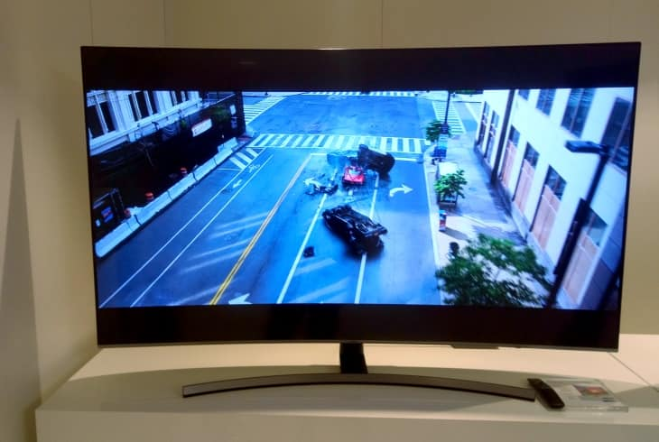 TV curvo Samsung NU8505 2018