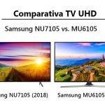 Comparativa TV UHD Samsung NU7105 y MU6105