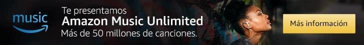 Prueba gratis Amazon Music Unlimited durante 30 días
