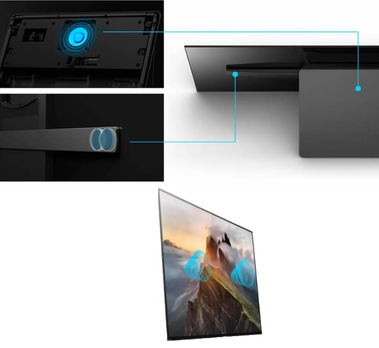 Sony A1 OLED Acoustic Surface