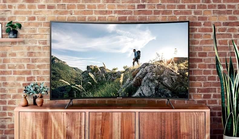 Análisis y opinión TV Samsung NU7305 curvo 2018