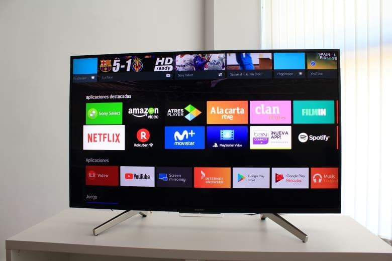 Interfaz Sony Android TV 2018