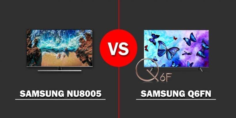 Comparativa TV Samsung NU8005 vs. Q6FN