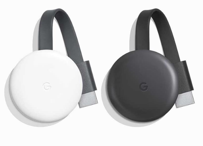 Nuevo Google Chromecast de 3ª generación