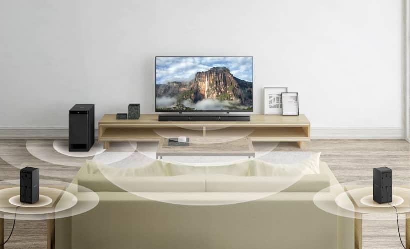 Barra de sonido Sony HT-RT3 sistema 5.1 600W