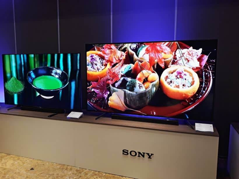 Nueva gama Sony XG8596