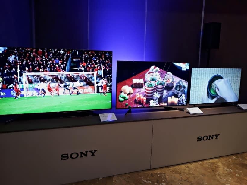 Presentación televisores gama 2019 Sony Bravia