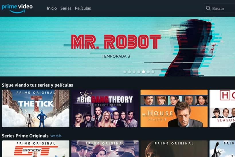 Amazon Prime Video en Chromecast