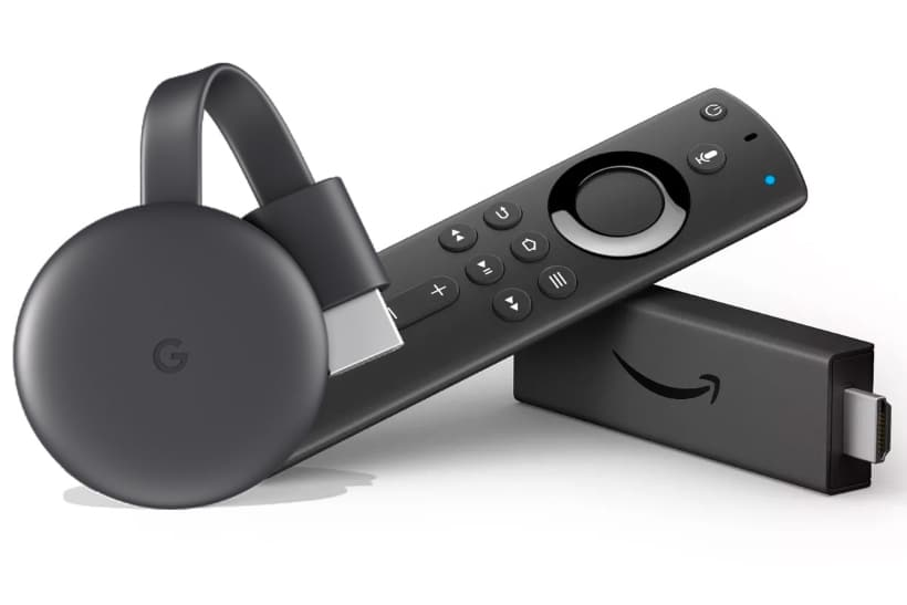 Google Chromecast y Amazon Fire TV