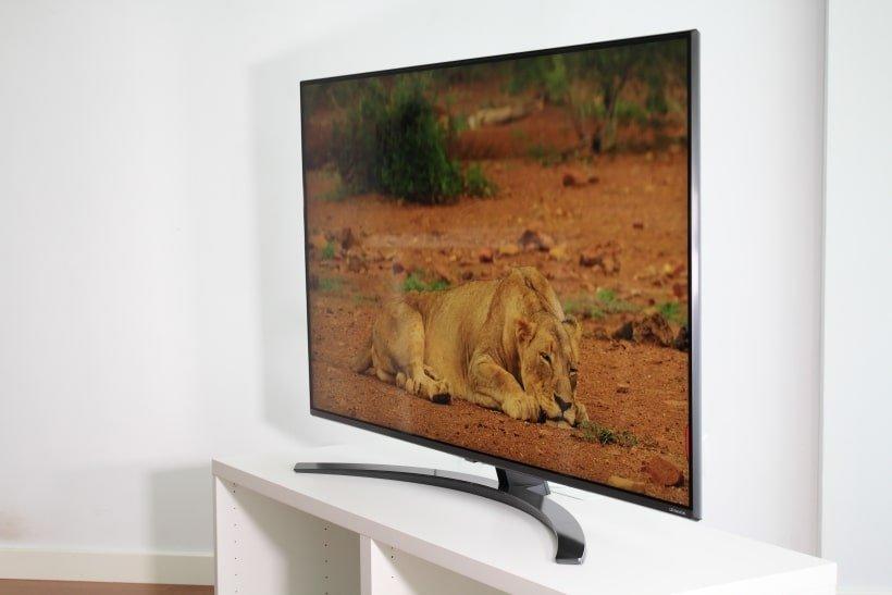 Ángulo de visión de TV LG SM8200 NanoCell IPS