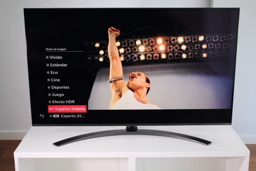 Configuración de imagen LG SM8200 NanoCell 2019