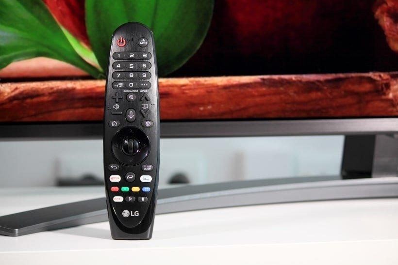 Mando Magic Control del TV LG SM8200 Nanocell