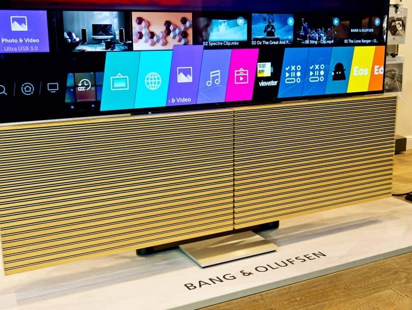 Sistema operativo WebOS 4.5 del TV Beovision Harmony