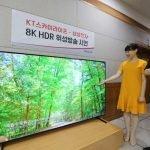 Retransmisión 8K satélite Samsung