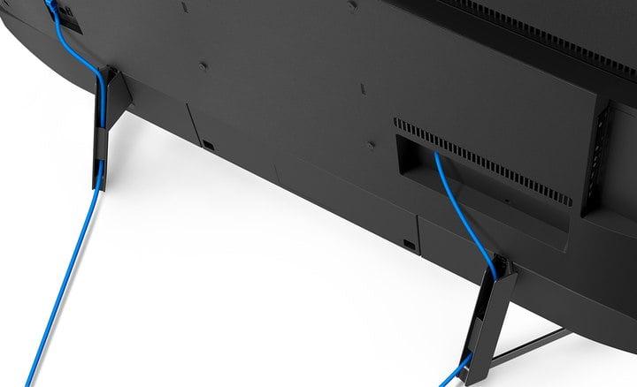 Manejo de cables en Sony XG9505