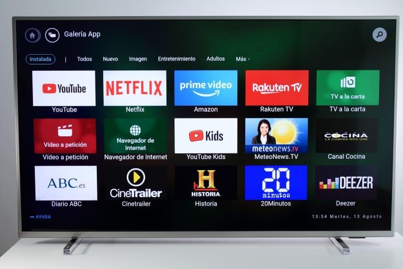 Smart TV Saphi Philips PUS6754 y PUS6704