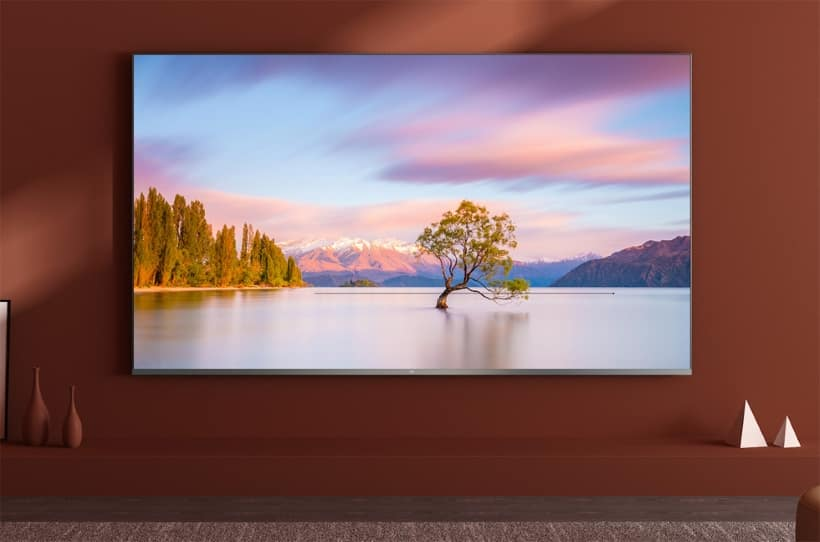 Xiaomi Mi Full Screen TV Pro con soporte para 8K