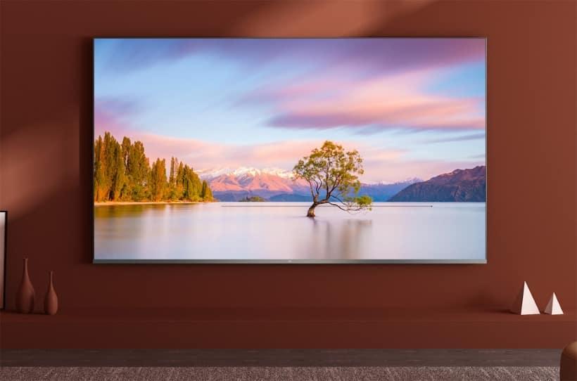 Xiaomi Mi Full Screen TV Pro con soporte para 8K