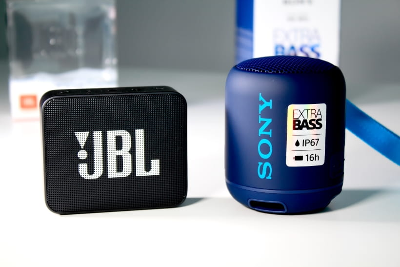 Comparativa Sony SRS-XB12 y JBL GO 2