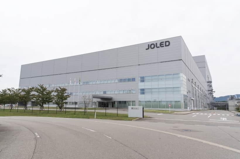 JOLED inicia producción de paneles OLED impresos RGB