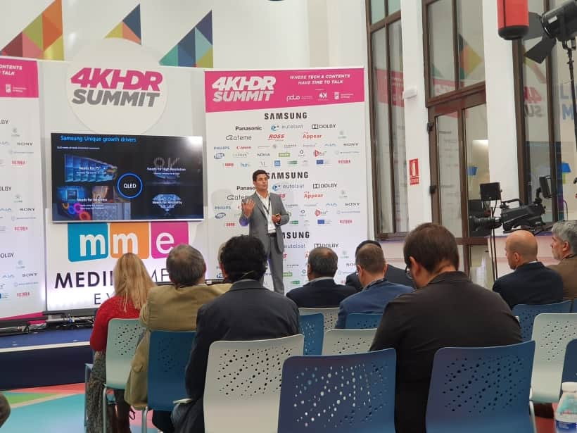 Samsung 4K HDR Summit