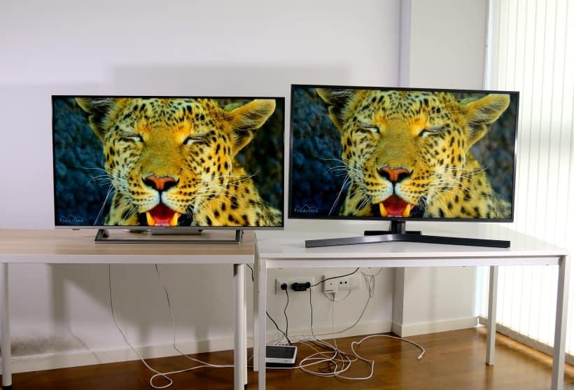 Hisense B7500 vs Samsung RU7405 Comparativa